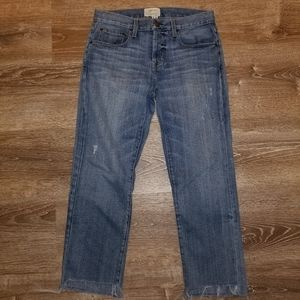 Current Elliot The Crossover Straight Leg Jeans 27